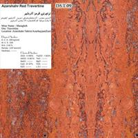 TRAVERTINE STONE-IRAN DS-T-09 Azarshahr-Red-Travertine